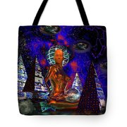 Cybergal Temple Tote Bag