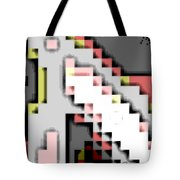 Cyberstructure 14 Tote Bag by Eikoni Images