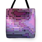 Cyberstructure 5 Tote Bag by Eikoni Images