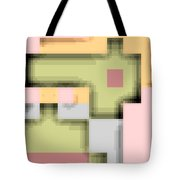 Cyberstructure 8 Tote Bag by Eikoni Images