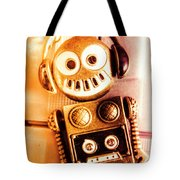 Cyborg Dance Party Tote Bag