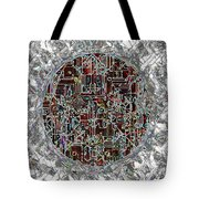 Cyborg Heart Tote Bag