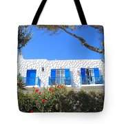Cycladic Architecture - 4161 Tote Bag
