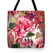 Cyclamen Tote Bag