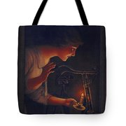 Cycles Fongers Vintage Bicycle Poster Tote Bag