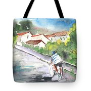 Cycling In Italy 01 Tote Bag