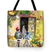 Cycling In Italy 04 Tote Bag