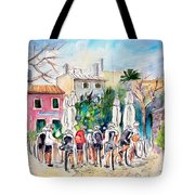 Cycling In Majorca 05 Tote Bag