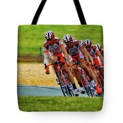Cycling Practice Tote Bag
