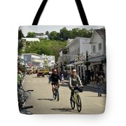 Cycling The Island Tote Bag
