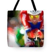Cyclist Three Tote Bag