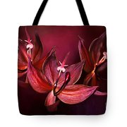 Cycnoches Cooperi Flowers Tote Bag