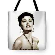 Cyd Charisse, Actress And Dancer Tote Bag