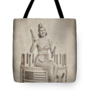 Cyd Charisse Hollywood Actress, Pinup And Dancer Tote Bag
