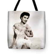 Cyd Charisse, Hollywood Legend By John Springfield Tote Bag