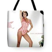 Cyd Charisse Tote Bag