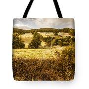 Cygnet Rustic Farming Fields Tote Bag