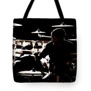 Cymbal-ized Tote Bag by Ed Smith