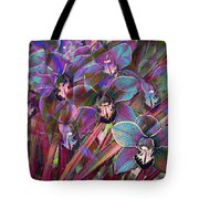 Cymbidium Carnival Tote Bag