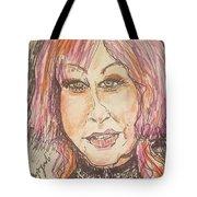 Cyndi Lauper Tote Bag