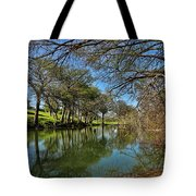 Cypress Bend Park Reflections Tote Bag
