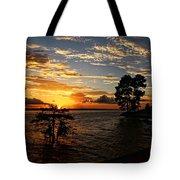Cypress Bend Resort Sunset Tote Bag
