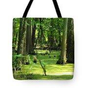 Cypress Knees In Wetlands Tote Bag