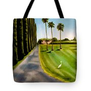Cypress Palms Tote Bag