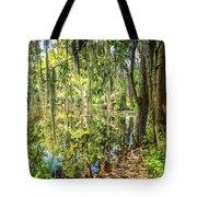 Cypress Pond Delight Tote Bag