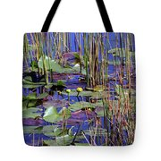 Cypress Pond Tranquility Tote Bag