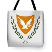 Cyprus Coat Of Arms Tote Bag