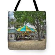 D C Carousel _ Hdr Tote Bag