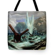D Day Tote Bag by Orville Norman Fisher