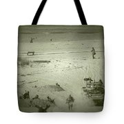 D-day Reenactment Tote Bag