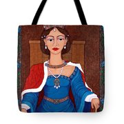 D. Leonor Telles - A Story Of Loves And Hates  A Story Of Power Tote Bag