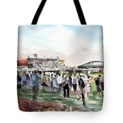 D P World Tour Championship Sketch Tote Bag