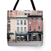 D St Washigton  Tote Bag