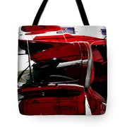 D Type Abstract Tote Bag