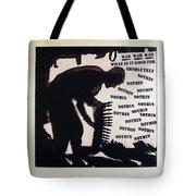 D U Rounds Project, Print 20 Tote Bag