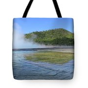 D09127 Reflection In Grand Prismatic Spring Tote Bag