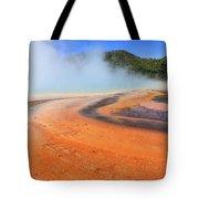 D09132 Colorful Grand Prismatic Spring Tote Bag