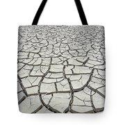 D17845-dried Mud Patterns  Tote Bag