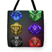 D4-20 Dragon Dice Poster Tote Bag