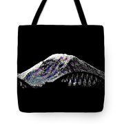 Da Mountain And Stadia Tote Bag