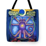Da Vinci Cat Tote Bag