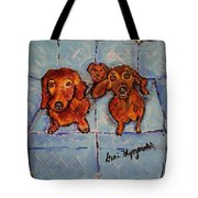 Dachshunds And Netflix  Tote Bag