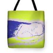Dad And Baby Tote Bag