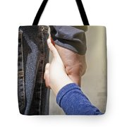 Dad And Me Tote Bag