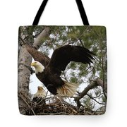 Dad Leaving The Nest Tote Bag