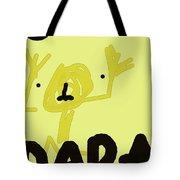 Dada Poster 1 Tote Bag